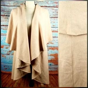 look Jackets & Coats - Look open shawl vest OS